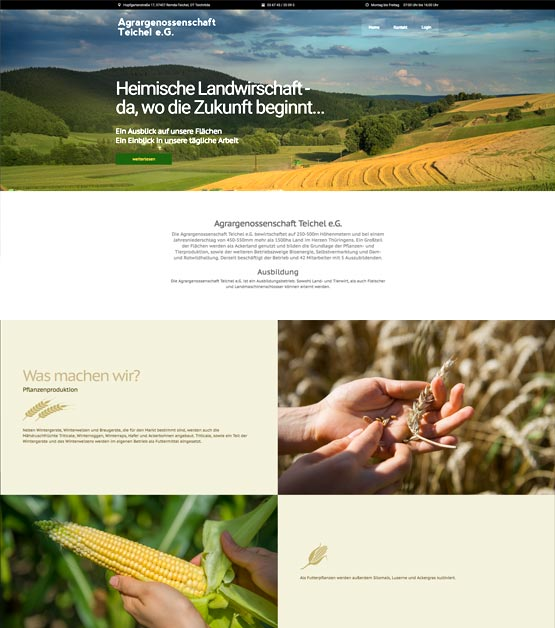 Agrar-Teichel
