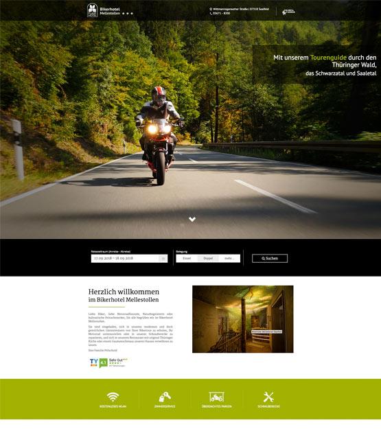 Bikerhotel-Mellestollen