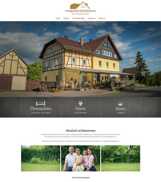 Landgasthof Marlishausen, Pension bei Arnstadt