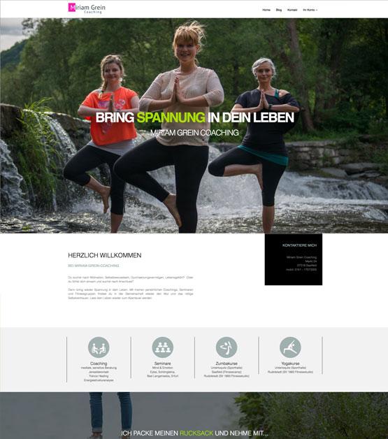 Miriam Grein, Coaching und spirituelle Arbeit