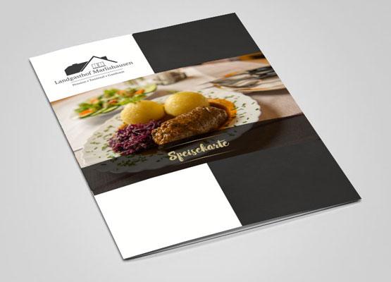 Speisekarte für Gasthof Marlishausen