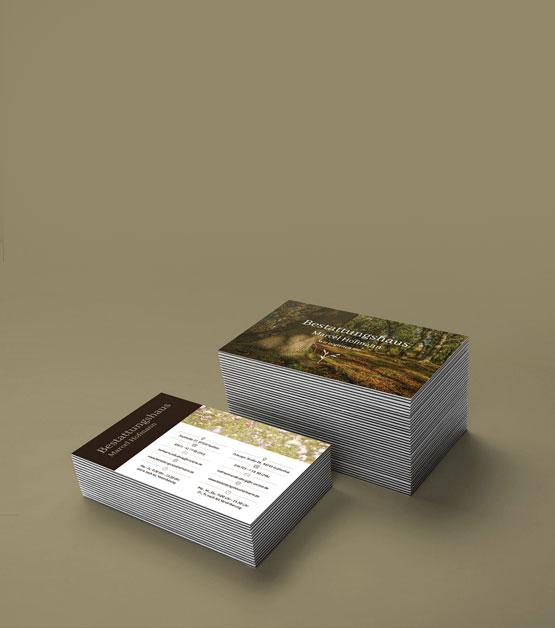 Visitenkarten Hofmann